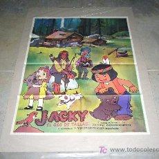 Cine: JACKY EL OSO DE TALLAC ANIMACION JAPONESA POSTER ORIGINAL 70X100. Lote 51126887