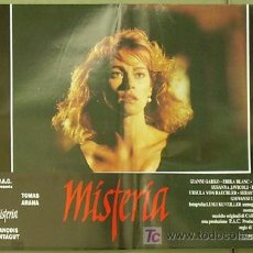Cine: YE00D MISTERIA / BODY DOUBLE LAMBERTO BAVA JOANNA PACULA SET DE 6 POSTERS ORIGINAL ITALIANO 47X68. Lote 14011612