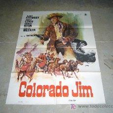 Cine: COLORADO JIM JAMES STEWART JANO POSTER ORIGINAL 70X100. Lote 269572503