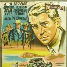 Cinéma: T05791 SANGRE EN LA CALLE JEAN SERVAIS POSTER ORIGINAL ARGENTINO 75X110 LITOGRAFIA. Lote 6686954