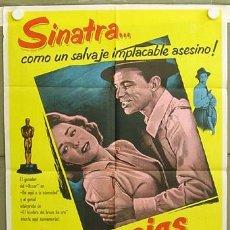 Cine: YY13D SUDDENLY FRANK SINATRA POSTER ORIGINAL ARGENTINO 75X110 LITOGRAFIA. Lote 6687061