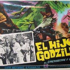 Cine: TERROR - EL HIJO DE GODZILLA - ORIGINAL MEXICANO LOBBY CARD - JAPON. Lote 47349288