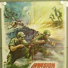 Cine: T05956 INVASION EN BIRMANIA SAMUEL FULLER POSTER ORIGINAL 70X100 ESTRENO. Lote 6732864