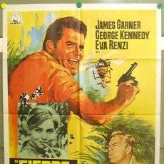 Cine: T06170 FIEBRE DE CODICIA JAMES GARNER JANO POSTER ORIGINAL 70X100 ESTRENO. Lote 6837860