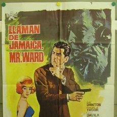 Cine: T06186 LLAMAN DE JAMAICA MR. WARD RAY DANTON EURO SPY POSTER ORIGINAL 70X100 ESTRENO. Lote 6838726