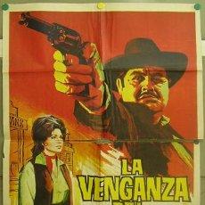 Cine: T06204 LA VENGANZA DEL FORASTERO RENE CARDONA ROSA DE CASTILLA POSTER ORIGINAL 70X100 ESTRENO. Lote 6839209