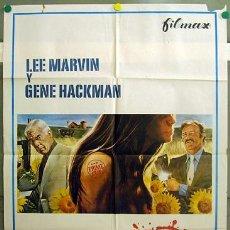 Cine: T06203 CARNE VIVA LEE MARVIN GENE HACKMAN POSTER ORIGINAL 70X100 ESTRENO. Lote 6839256