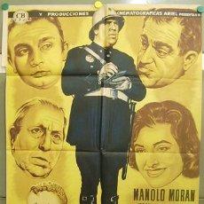 Cine: T06239 MANOLO GUARDIA URBANO MANOLO MORAN TONY LEBLANC JOSE ISBERT POSTER 70X100 ESTRENO LITOGRAFIA. Lote 17564415