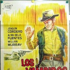 Cine: T06353 LOS VAMPIROS DEL OESTE JOAQUIN CORDERO POSTER ORIGINAL 70X100 ESTRENO. Lote 6869687