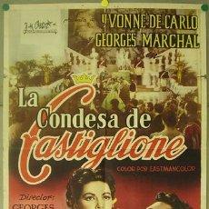 Cine: T06439 LA CONDESA DI CASTIGLIONE YVONNE DE CARLO POSTER ORIGINAL 70X100 ESTRENO. Lote 13108118