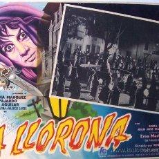 Cine: TERROR - LA LLORONA - MAURICIO GARCES - EDUARDO FAJARDO - LOBBY CARD ORIGINAL MEXICANO. Lote 13650509