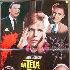 Cine: T06654 THE SPIDER'S WEB AGATHA CHRISTIE POSTER ORIGINAL ITALIANO 68X94. Lote 7050715