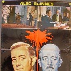 Cine: T06657 OCHO SENTENCIAS DE MUERTE ALEC GUINNESS EALING POSTER ORIGINAL ITALIANO 68X94. Lote 7055697