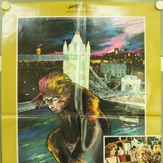 Cine: T06681 QUEEN KONG FRANK AGRAMA VALEIRE LEON POSTER ORIGINAL ITALIANO 68X94. Lote 7056193