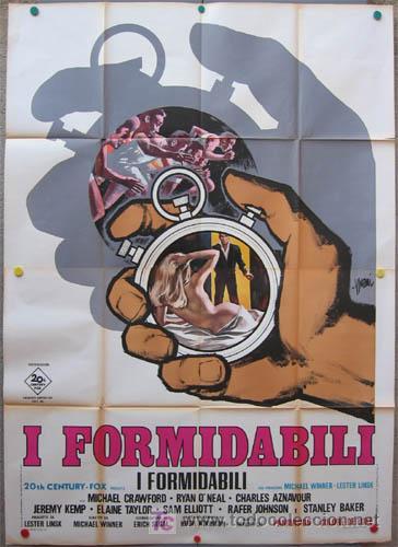 T06582 LA PRUEBA DEL VALOR MICHAEL CRAWFORD MARATON JUEGOS OLIMPICOS POSTER ORIG ITALIANO 140X200 (Cine - Posters y Carteles - Deportes)