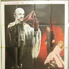 Cine: T06597 PLAGUE OF THE ZOMBIES HAMMER JOHN GILLING POSTER ORIGINAL ITALIANO 140X200. Lote 19912866