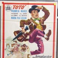 Cine: WN89D MEDICO DE LOCOS TOTO CIFESA POSTER ORIGINAL 70X100 ESTRENO NO ESTRENADA. Lote 9304845