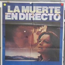 Cine: T06744 LA MUERTE EN DIRECTO ROMY SCHNEIDER HARVEY KEITEL POSTER ORIGINAL 70X100 ESTRENO. Lote 7134281