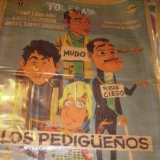 Cine: LOS PEDIGÚEÑOS TONY LEBLANC J.L.LOPEZ VAZQUEZ DIRECCION TONY LEBLANC ESTRENO. Lote 27030598