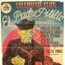 Cine: CARTEL CINE EL PADRE PITILLO LITOGRAFIA CIFESA AÑOS 40-50 ORIGINAL. Lote 25606708