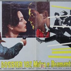 Cine: T06832 SAMBA SARA MONTIEL POSTER ORIGINAL 47X68 ITALIANO A. Lote 7188665