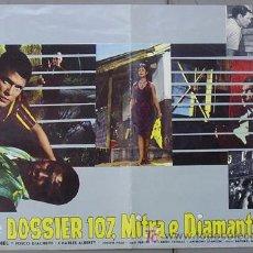 Cine: T06847 SAMBA SARA MONTIEL RAFAEL GIL POSTER ORIGINAL 47X68 ITALIANO C. Lote 7188714