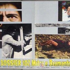 Cine: T06849 SAMBA SARA MONTIEL POSTER ORIGINAL 47X68 ITALIANO E. Lote 7188740