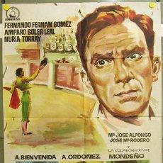 Cine: T07040 LA BECERRADA FERNAN GOMEZ JOSE MARIA FORQUE TOROS POSTER ORIGINAL 70X100 ESTRENO. Lote 7364811