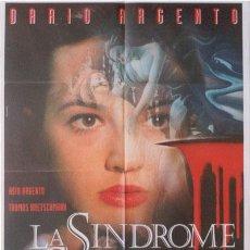 Cine: CP29D EL SINDROME DE STENDHAL DARIO ARGENTO POSTER ORIGINAL 100X140 ITALIANO. Lote 7450299