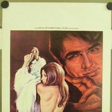 Cine: CP60 LA AMANTE DEL DEMONIO THE DEVIL'S LOVER TERROR POSTER ORIGINAL 33X70 ITALIANO. Lote 7454793