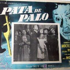 Cinema - PATA DE PALO - CARLOS LOPEZ MOCTEZUMA - LILIA PRADO - ORIGINAL LOBBY CARD MEXICANO - 13843442