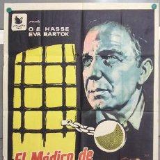 Cine: T07104 EL MEDICO DE STALINGRADO O.E. HASSE EVA BARTOK JANO POSTER 70X100 ORIGINAL ESTRENO. Lote 7501290