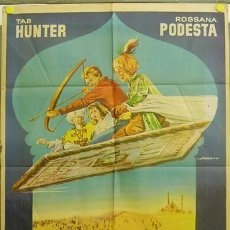 Cine: T07101 LA FLECHA DE ORO TAB HUNTER ROSSANA PODESTA ALBERICIO POSTER ORIGINAL 70X100 ESTRENO. Lote 7501951