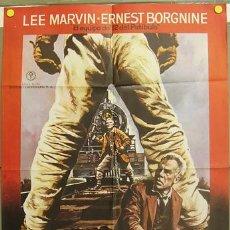 Cine: CO94 EL EMPERADOR DEL NORTE LEE MARVIN ERNEST BORGNINE MAC POSTER ORIGINAL ESTRENO 70X100. Lote 7699057