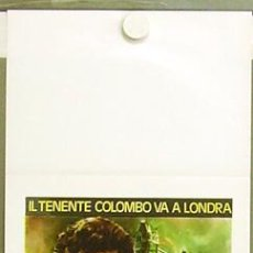 Cine: T07244 TENIENTE COLOMBO DAGGER OF THE MIND TV SERIES PETER FALK POSTER ORIGINAL ITALIANO 33X70. Lote 7579493