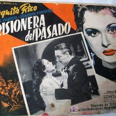 Cine: PAQUITA RICO - PRISIONERA DEL PASADO - PRUDENCIA GRIFFELL - ORIGINAL LOBBY CARD MEXICANO. Lote 13954138