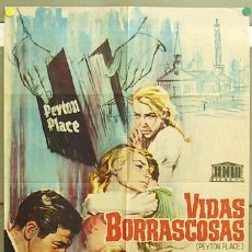 Cine: CO97 VIDAS BORRASCOSAS LANA TURNER HOPE LANGE JANO POSTER ORIGINAL 70X100 ESTRENO. Lote 7699163