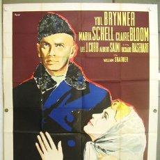 Cinema - T07450d LOS HERMANOS KARAMAZOV YUL BRYNNER MARIA SCHELL POSTER ORIGINAL ITALIANO 140X200 - 19931905