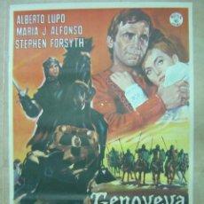 Cine: GENOVEVA DE BRABANTE - ALBERTO LUPO - AÑO 1965. Lote 14776210