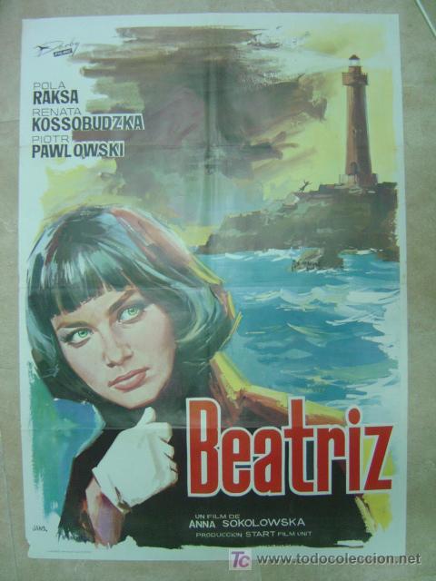 BEATRIZ - POLA RAKSA, ANNA SOKOLOWSKA - AÑO 1966 (Cine- Posters y Carteles - Drama)