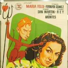 Cine: OZ85D FAUSTINA MARIA FELIX FERNANDO FERNAN GOMEZ POSTER ORIGINAL 70X100 ESTRENO LITOGRAFIA. Lote 18046944