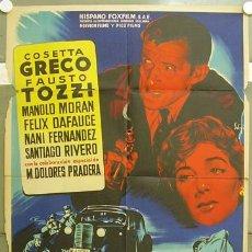Cine: T07500 LA CIUDAD PERDIDA COSETTA GRECO MANOLO MORAN SOLIGO POSTER ORIGINAL 70X100 ESTRENO LITOGRAFIA. Lote 7805789
