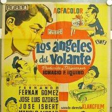 Cine: T07505 LOS ANGELES DEL VOLANTE FERNAN GOMEZ JOSE ISBERT TONY LEBLANC TAXI POSTER 70X100 LITOGRAFIA. Lote 8754543