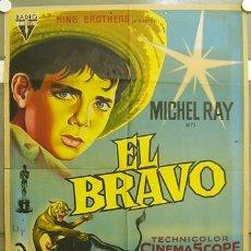 Cine: T07507 EL BRAVO DALTON TRUMBO MICHAEL RAY SOLIGO POSTER ORIGINAL ESTRENO 70X100 LITOGRAFIA. Lote 11353453