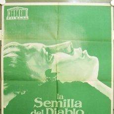 Cine: RY23D LA SEMILLA DEL DIABLO ROMAN POLANSKI JOHN CASSAVETES MIA FARROW POSTER ORIG 70X100 ESTRENO. Lote 22009837