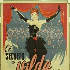 Cine: ZR01D EL SECRETO DE HILDA MARIA LITTO WILLY FRITSCH PIÑANA POSTER ORIGINAL 70X100 ESTRENO LITOGRAFIA. Lote 7841576