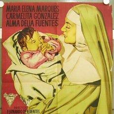 Cine: T07549 CANCION DE CUNA MARIA ELENA MARQUES MARTINEZ SIERRA POSTER ORIGINAL 70X100 ESTRENO LITOGRAFIA. Lote 9176851