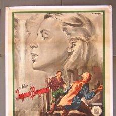 Cine: T07742D EL MANANTIAL DE LA DONCELLA INGMAR BERGMAN POSTER ORIGINAL ITALIANO 100X140 ENTELADO. Lote 19850392
