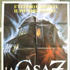 Cine: T07958 HOUSE 3 THE HORROR SHOW POSTER ORIGINAL ITALIANO 100X140. Lote 8065890