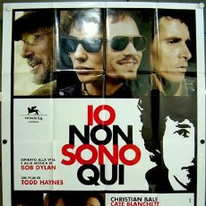 Cine: T07953 I'M NOT THERE BOB DYLAN CATE BLANCHETT POSTER ORIGINAL ITALIANO 140X200. Lote 8096521